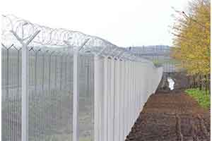 Jacksons Fencing Eurotunnel Security