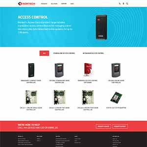 Nortech Control Website