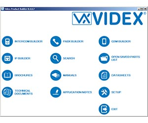 Videx Product Builder
