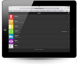 Maxxess Mobile Workforce Management System AMBIT ipad
