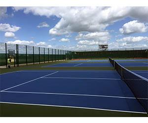 Zaun Tennis Surface