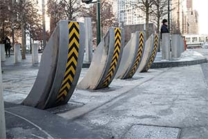 HealdHT1raprter Security Bollard