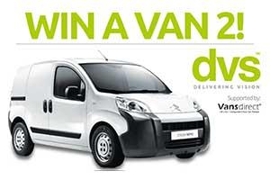 DVS win a van