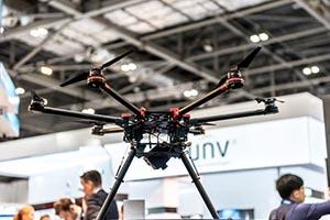 ifsec International drone show